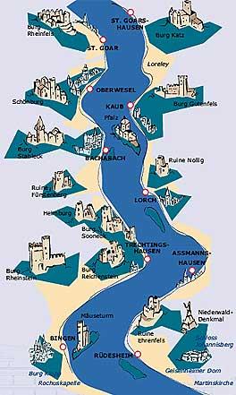 BRüdesheimer Schifskarte